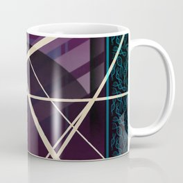 Crossroads - purple graphic Coffee Mug