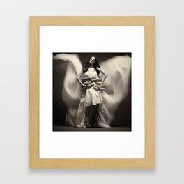 population Framed Art Print