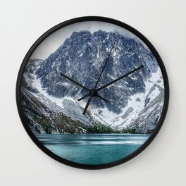 Alpine Lakes Wilderness, Colchuck Lake Wall Clock