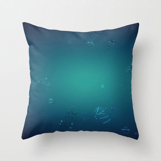 Tinnitus Throw Pillow