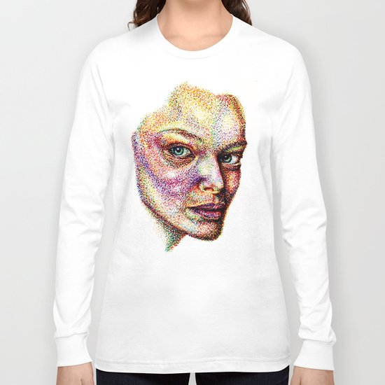 Face Pointed Out Long Sleeve T-shirt