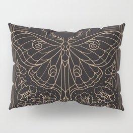 Moon Moth Pillow Sham