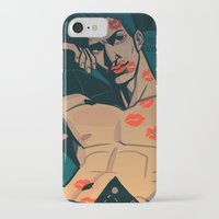 moulin rouge iPhone & iPod Cases featuring Rouge by Jemma Salume