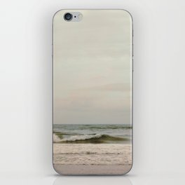 Cloudy Daydreaming by the Sea iPhone Skin
