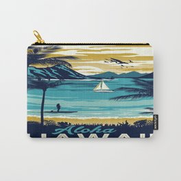 Vintage poster - Hawaii Carry-All Pouch