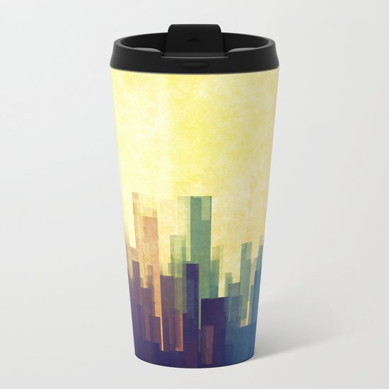 The Cloud City Metal Travel Mug