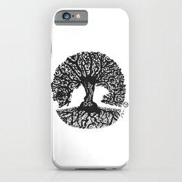 """Tree of Harmony"" Hand-Drawn by Dark Mountain Arts iPhone Case"