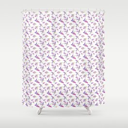 Flying birds Shower Curtain