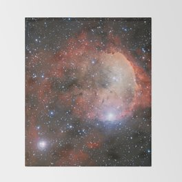 The Star Formation Region NGC 3324 Throw Blanket