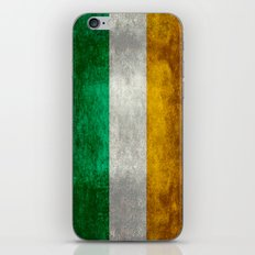 Republic of Ireland Flag, Vintage grungy iPhone & iPod Skin