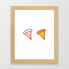 Slice of Pizza Framed Art Print