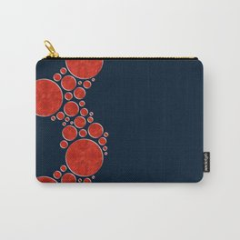 Bubbles - Red Carry-All Pouch