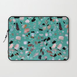 Awesome vintage abstract marble texture image Laptop Sleeve
