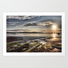Paignton Seafront Art Print