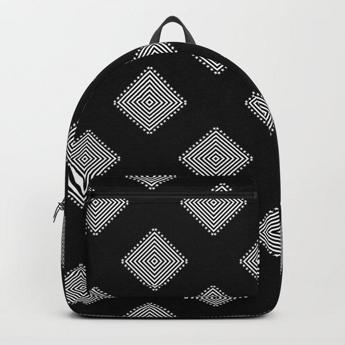 Optical Triangles Backpack