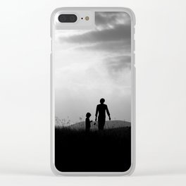 Silhouettes Clear iPhone Case