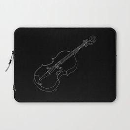 Violin in lines Laptop Sleeve