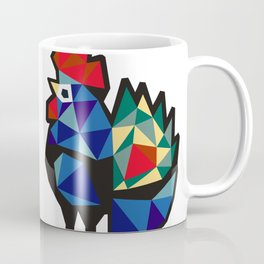 Polish Folk Rooster Coffee Mug