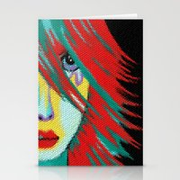 indie Stationery Cards featuring Mosaic Indie by Sartoris ART