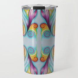 Mermaid Musings mirrored Travel Mug