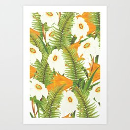 Summer Narcissus Art Print