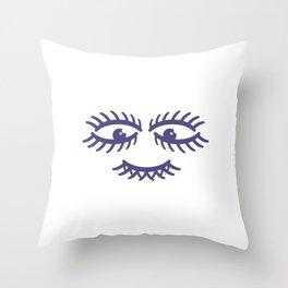 face #society6 #decor #buyart #artprint Throw Pillow