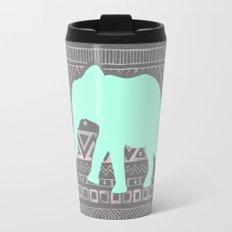 Mint Elephant  Travel Mug