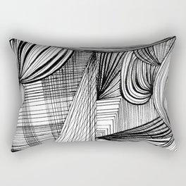 Overwhelmed Rectangular Pillow