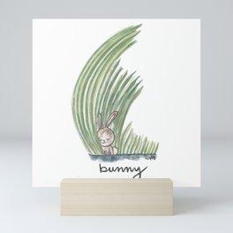 Bunny Love Mini Art Print