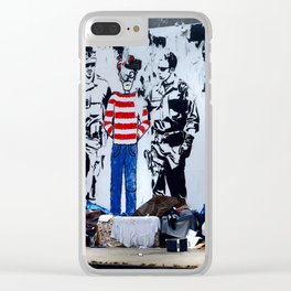 Oh Crap, There's Waldo Clear iPhone Case