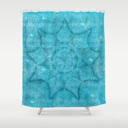 South Pacific Lagoon Shower Curtain