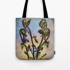 Spring Ferns Tote Bag