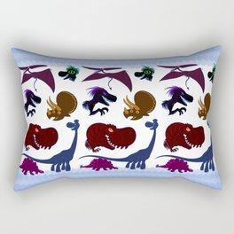 Cute Dinosaur Group Rectangular Pillow