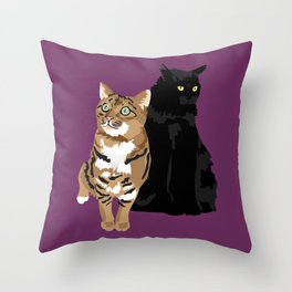 Niles and Gingerbread Throw Pillow