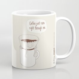 Coffee Runs Coffee Mug