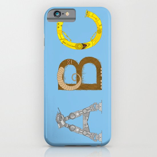 mAY BEE SEE be with you! (blue) iPhone & iPod Case