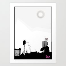 my view Art Print