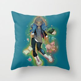 things i love Throw Pillow