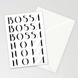 Bossa Nova 1 Stationery Cards