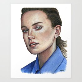 Daisy Jazz Isobel Ridley Art Print