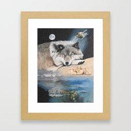 Cancer- The Zodiac Wildlife Series Framed Art Print