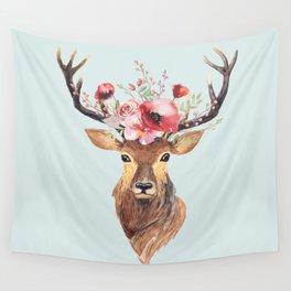 Bohemian Deer 2 Wall Tapestry