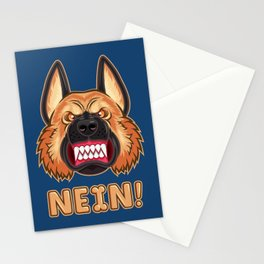 Doggy Says No Stationery Cards