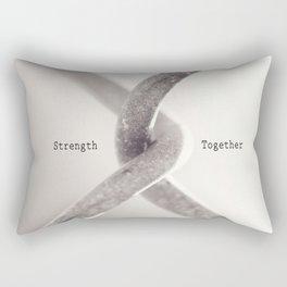Strength Together Rectangular Pillow
