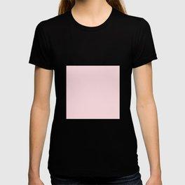Millennial Pink Solid Blush Rose Quartz T-shirt