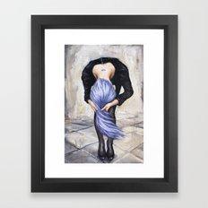 Saturn Returns Framed Art Print