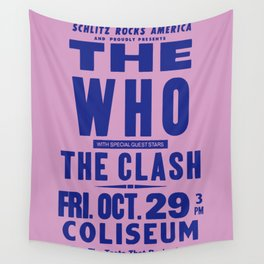 Los Angeles Concert 1982 Wall Tapestry