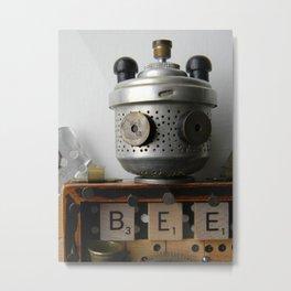 B.E.E. Metal Print