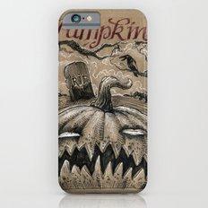 Pumpkin (Drawlloween 1/31) iPhone 6s Slim Case
