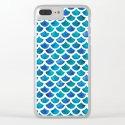 Blue Mermaid Scales by elenaoneill